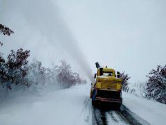 Malatya'da 15 mahalle yolu kardan dolayı ulaşıma kapalı