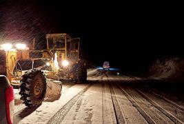 Malatya'da 26 kırsal mahalle yolu kar nedeniyle kapalı