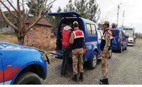 Malatya'da evleri işaretleyen şüpheli gözaltına alındı