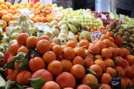 Malatya'da patlıcan fiyatı yükseldi, portakal fiyatı düştü