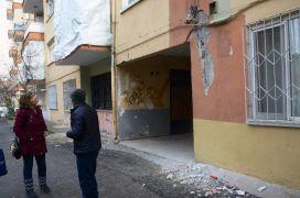 Malatya'da yıkılma riski olan binalar boşaltılıyor