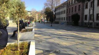 Malatya Valiliği önü yaya trafiğine açıldı