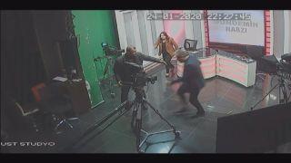 Milletvekili Çakır depreme televizyon stüdyosunda yakalandı