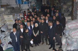 """TOBB Başkanı Hisarcıklıoğlu: """"Deprem bölgesine 99 tır yardım yaptık"""""""
