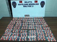 Malatya'da uyuşturucu hap ve silahlar ele geçirildi