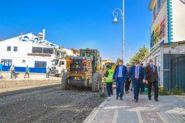 Malatya Büyükşehir Belediye Başkanı Gürkan inceleme yaptı