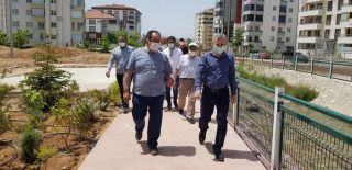 Başkan Çınar'dan yeşil alan vurgusu