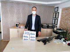 Büyükşehir Belediyesi'nin maske dağıtımı sürüyor