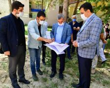 Gündüzbey sosyal tesis projesinin yapımı başladı