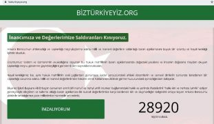 Malatya'da STK'lardan imza kampanyası