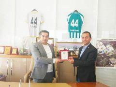 Yeşilyurt Belediyespor'a 'amatöre destek' plaketi verildi