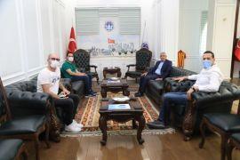 Yönetmen Çetin, Güder'i ziyaret etti