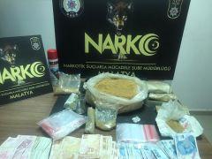 Malatya'da uyuşturucuya geçit verilmedi