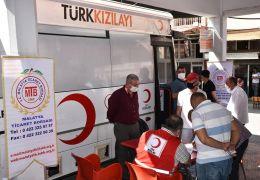 Ticaret Borsası'ndan kan bağışına kampanyasına destek