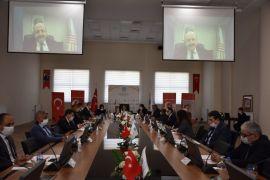 YÖK Başkanı Prof. Dr. Saraç, MTÜ Senatosu'na katıldı