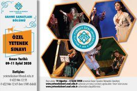 MTÜ Sahne Sanatları Bölümüne 20 oyuncu adayı öğrenci alınıyor