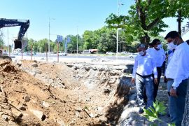 Yeşilyurt Belediyesi yeni hizmet binasının kazı çalışmaları başladı