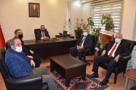 MTSO Başkanı Sadıkoğlu'ndan Böke'ye hayırlı olsun ziyareti