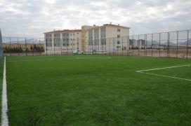 Okulların spor tesisi ihtiyaçları karşılanıyor