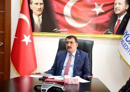 Başkan Gürkan, öğrencilerle söyleşiye katıldı