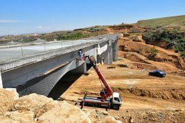 Malatya kuzey çevre yolu ilerliyor