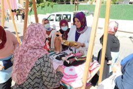 Battalgazi Hanımeli pazarı yeniden kapılarını açtı