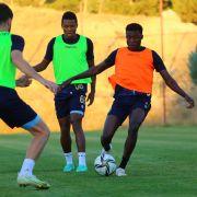Yeni Malatyaspor, Beşiktaş maçı hazırlıklarını çift antrenmanla sürdürdü