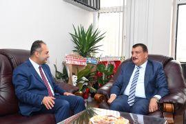 Başkan Gürkan'dan Baro Başkanı Demez'e hayırlı olsun ziyareti
