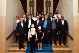 Şehit ailelerinden Malatya'ya ziyaret
