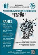 Uluslararası terörü, bürokratlar ve akademisyenler anlatacak